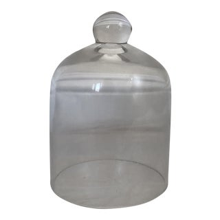 Clear Glass Bell Jar