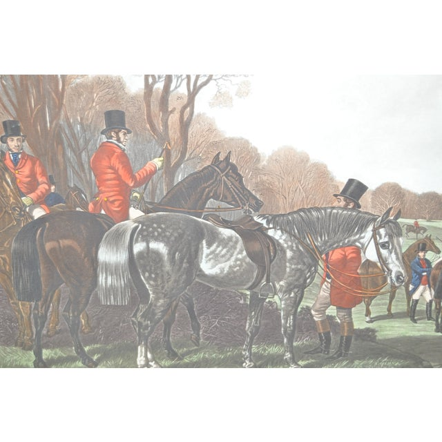 19th Century Fox Hunt Engravings - Set of 4 - Image 7 of 8