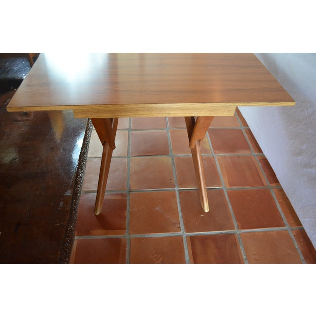 Mid-Century Convertible Castro Dining/Coffee Table - Image 11 of 11