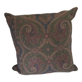 Ralph Lauren Paisley Pillow