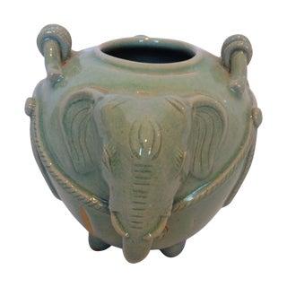 Circa 1940s Elephant Vase