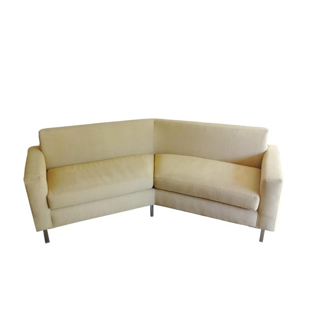 Thayer Coggin Angled Sofa Chairish
