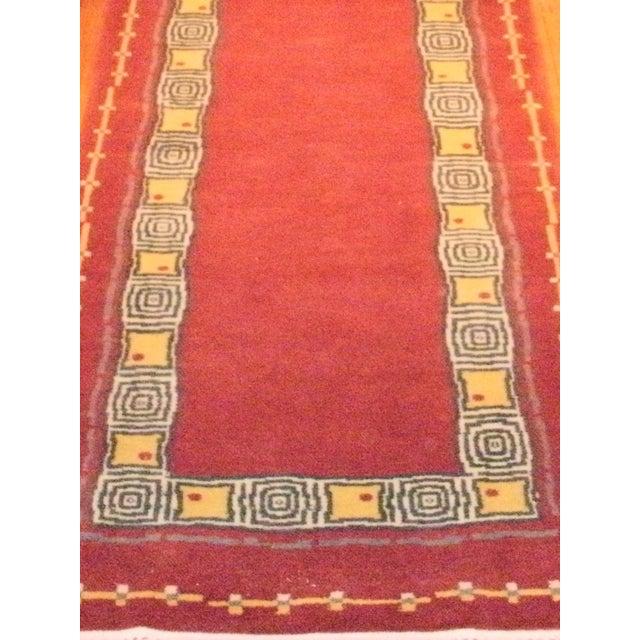 """Pasargad N Y Contemporary Tibetan Rug - 2'6"""" X 10'2"""" - Image 3 of 3"""