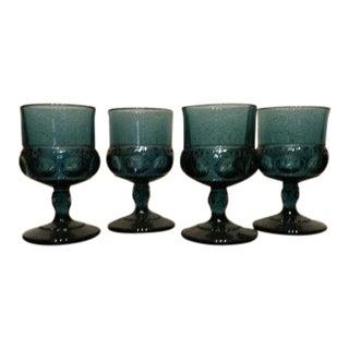 Cobalt Blue Cordial Glasses - Set of 4