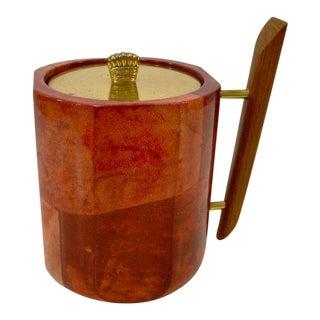 1950s Aldo Tura Goatskin Ice Bucket