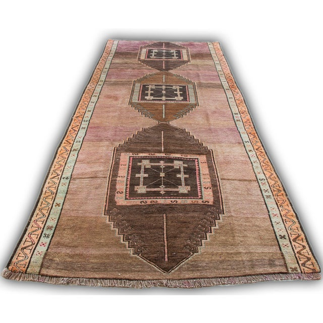 Hand Knotted Turkish Kars Rug - 5′9″ × 13′11″ - Image 2 of 11