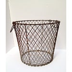 Image of 1940 New England Clamming Basket