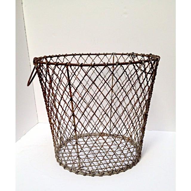 Image of 1940 New England Clamming Basket