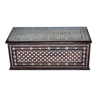 Turkish Mother of Pearl Inlaid Chest