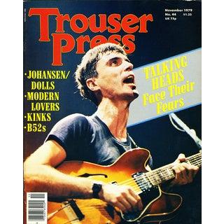 Vintage David Byrne Talking Heads Trouser Press
