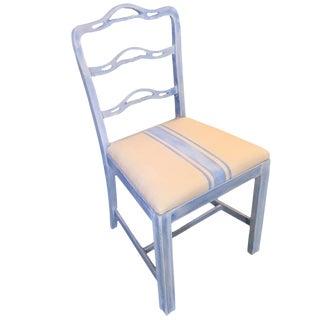 Grain Sack Painted Chair