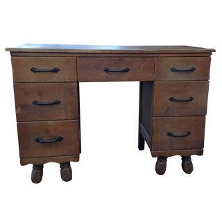 1930s Vintage Monterey Desk