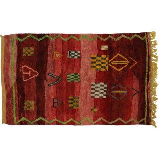 Berber Moroccan Rug, 5'2 x 8'4
