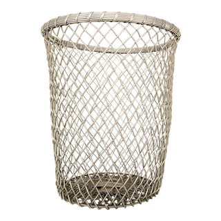 Aluminum Decorative Waste Basket