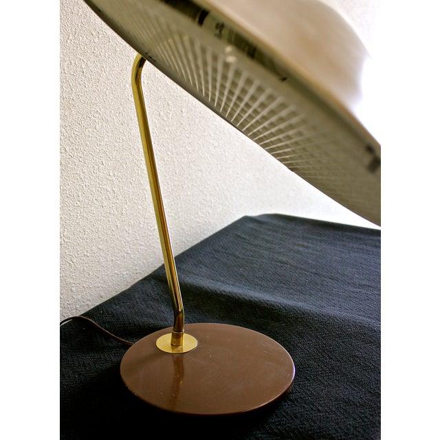 Gerald Thurston for Lightolier Dome Desk Lamp - Image 4 of 5