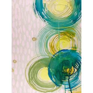 Alex K Mason Aqua Spin Series Lilac D Print
