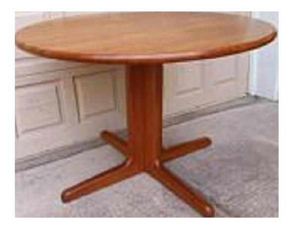 Danish Mid Century Modern Teak Pedestal Dining Table  : 138e4da8 b115 4f90 a739 a785b8e9ca4aaspectfitampwidth640ampheight640 from www.chairish.com size 591 x 591 jpeg 16kB