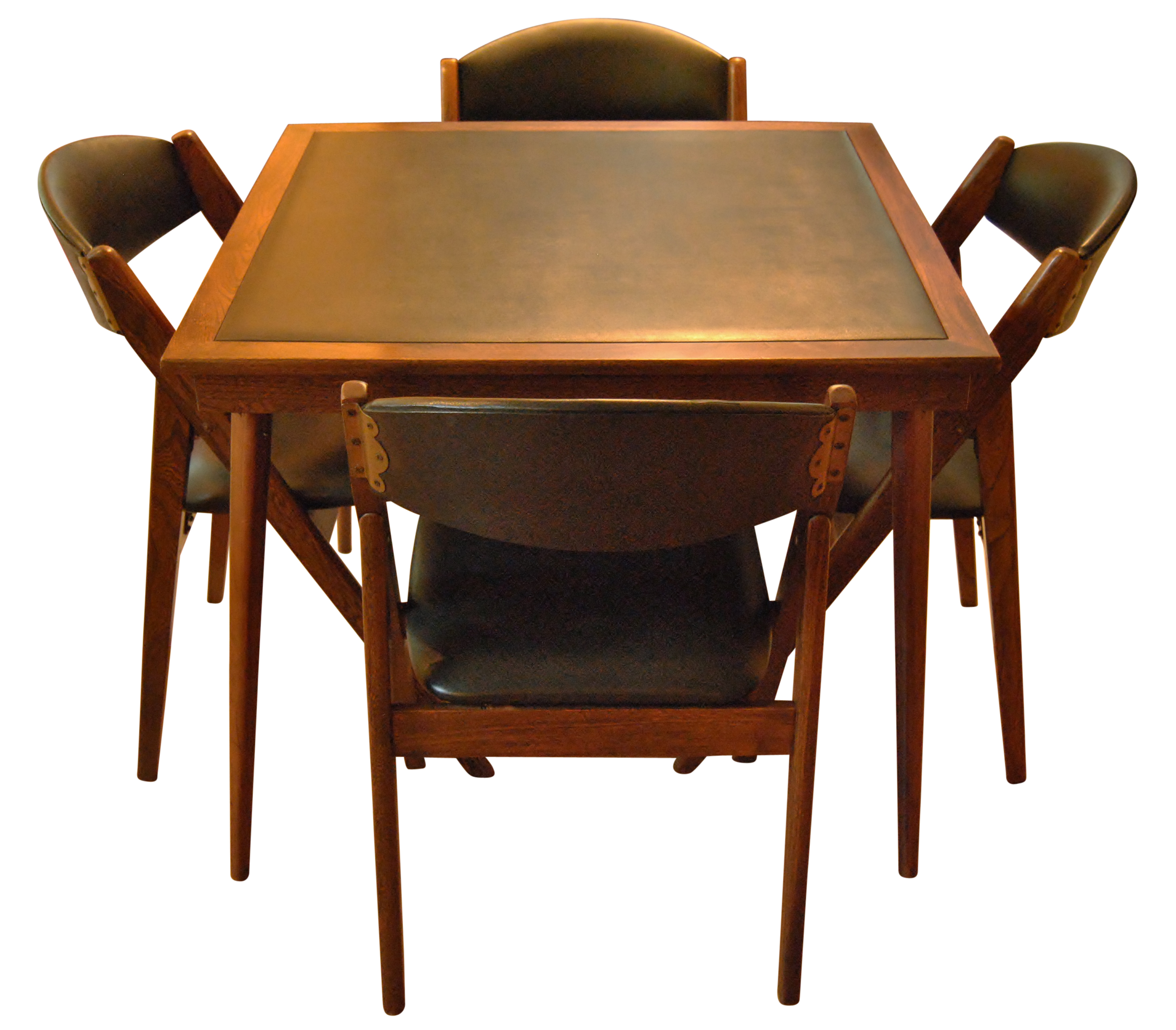 stakmore folding chairs and table chairish