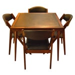 Image of Stakmore Folding Chairs and Game Table