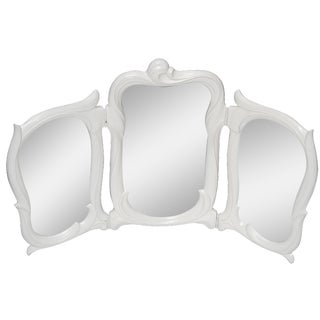 Vintage White Dressing Table Mirror