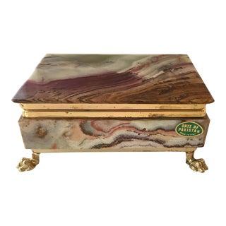 Italian Onyx Box
