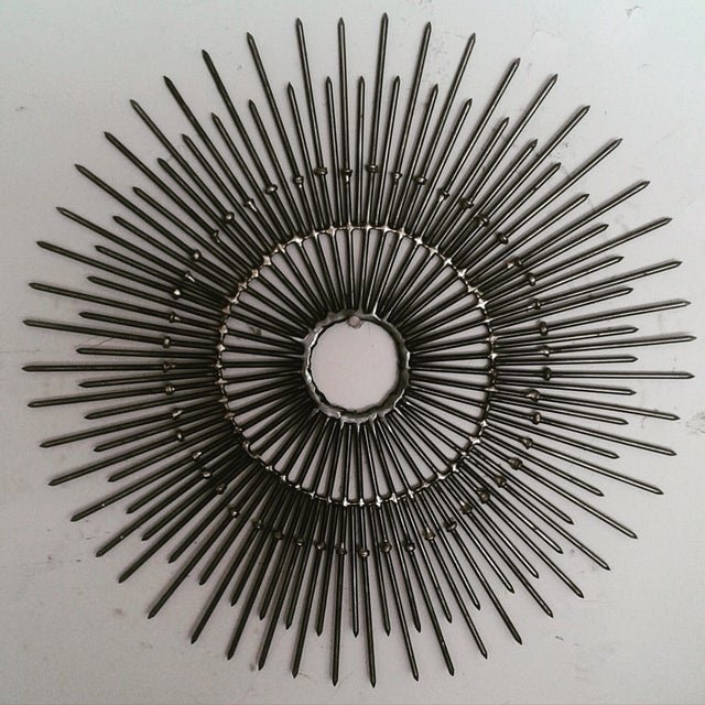 Mid Century Inspired Starburst Wall Art - Image 2 of 3