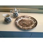 Image of Royal Staffordshire Stratford Stage Brown Ironstone - Set of 3