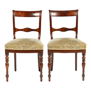 Dutch Regncy-Style Chairs, C.1840 S/2