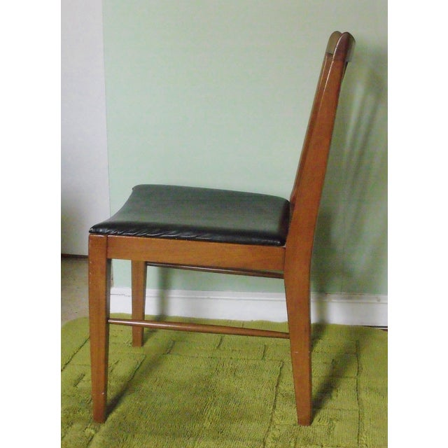 John A. Colby & Sons MCM Walnut Desk Chair - Image 3 of 8