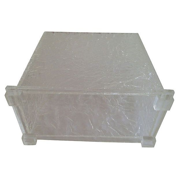 Lucite Ice Waste Bin - Image 5 of 6