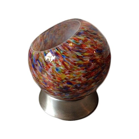Multi-Colored Retro Orb Table Light - Image 1 of 3