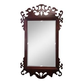Baker Chippendale Mahogany Mirror