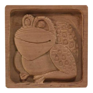 Animal Wood Carving Panel By Evelyn Ackerman