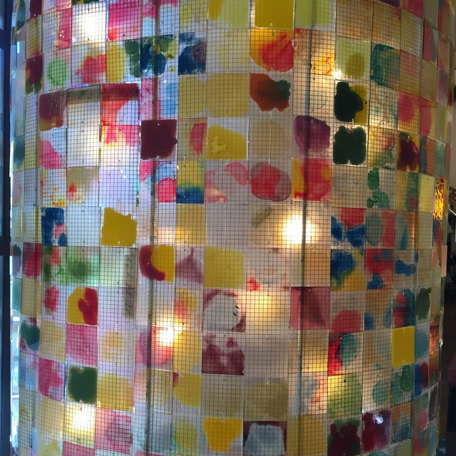 Weisman Glass Chandelier - Image 5 of 11