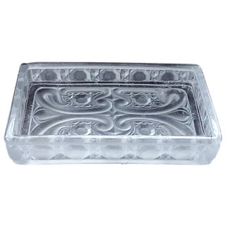 Baccarat Frosted Glass Catchall Dish
