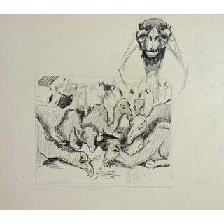 Camel Pencil Study by George Baer