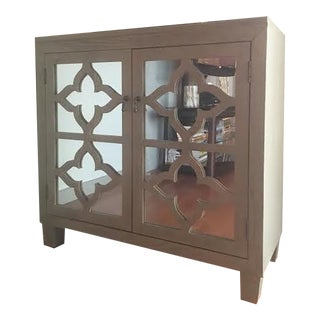 Mirrored Bar Cabinet