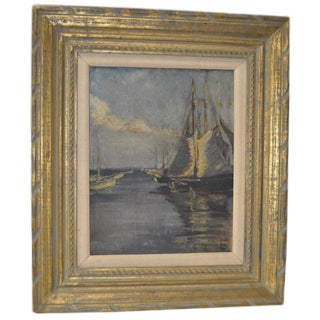 Early 20th Century Maritime Painting