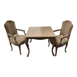 Custom Fremarc Design Table & Chairs