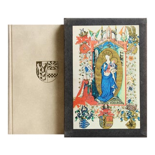 """John Plummer """"The Hours of Catherine Cleves"""" Book with Slipcase Cover"""