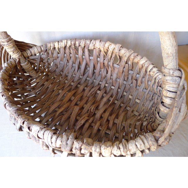 Image of Large Appalachian Handwoven Basket