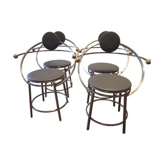 Michele De Lucchi Style Chairs - Set of 4