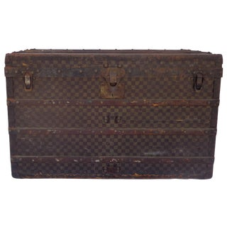 Antique Louis Vuitton Damier Trunk