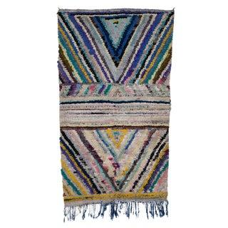 "Boucherouite Moroccan Carpet - 5'9""x3'4"""