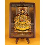 Image of Vintage Chinese Reverse Paintings on Glass
