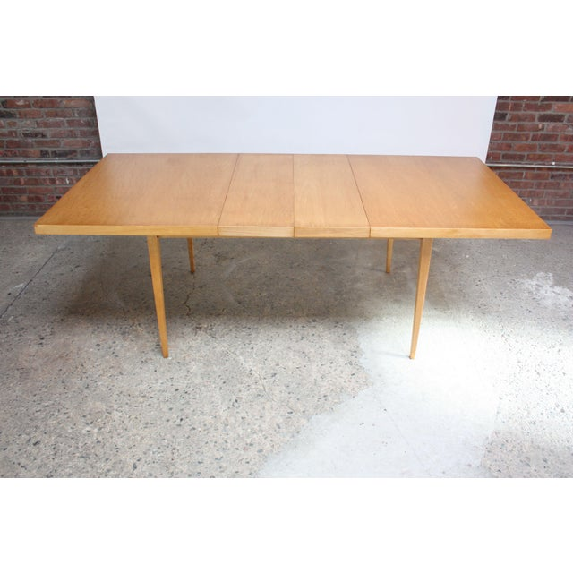 Paul McCobb Maple Extendable Dining Table - Image 2 of 11