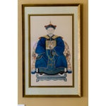 Image of Chinese Emperor Ancestor Portrait Painting