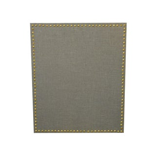 Gray Cork Board With Nailheads - 21 x 25