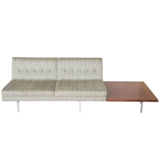 George Nelson for Herman Miller Sofa With Rosewood Table