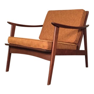 Mid-Century Modern Lounge Chair - Style Of Baumritter